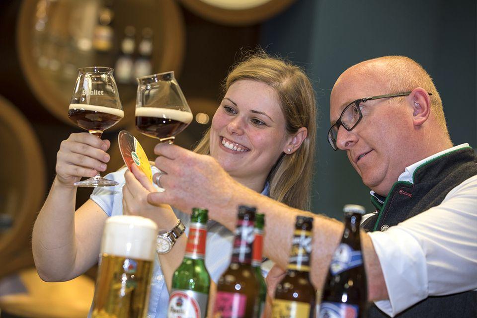 Vorfreude ist die schönste Freude: ProBIERen Sie unser Bier und werden Sie Biersommelier.