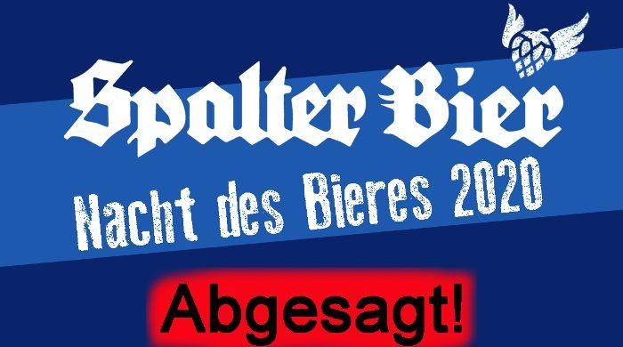Nacht des Bieres 2020 - Abgesagt!